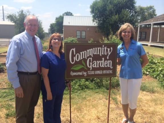 Community Garden sign 3